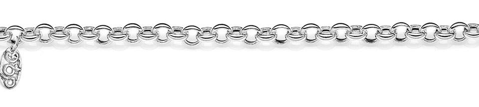 Rolò Premium Silver Bracelet Base dop jewels