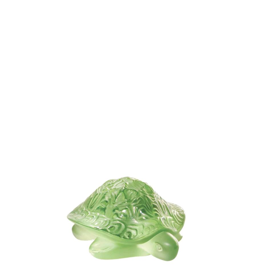 Tartaruga verde Lalique