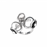 Orecchini Logo Arcobaleno Chantecler Grandi