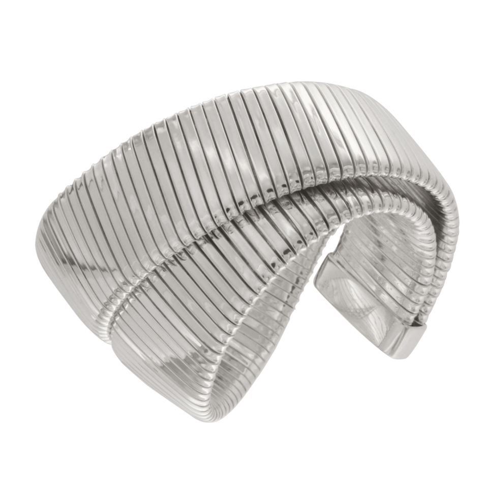 Bracciale tubogas piatto doppio