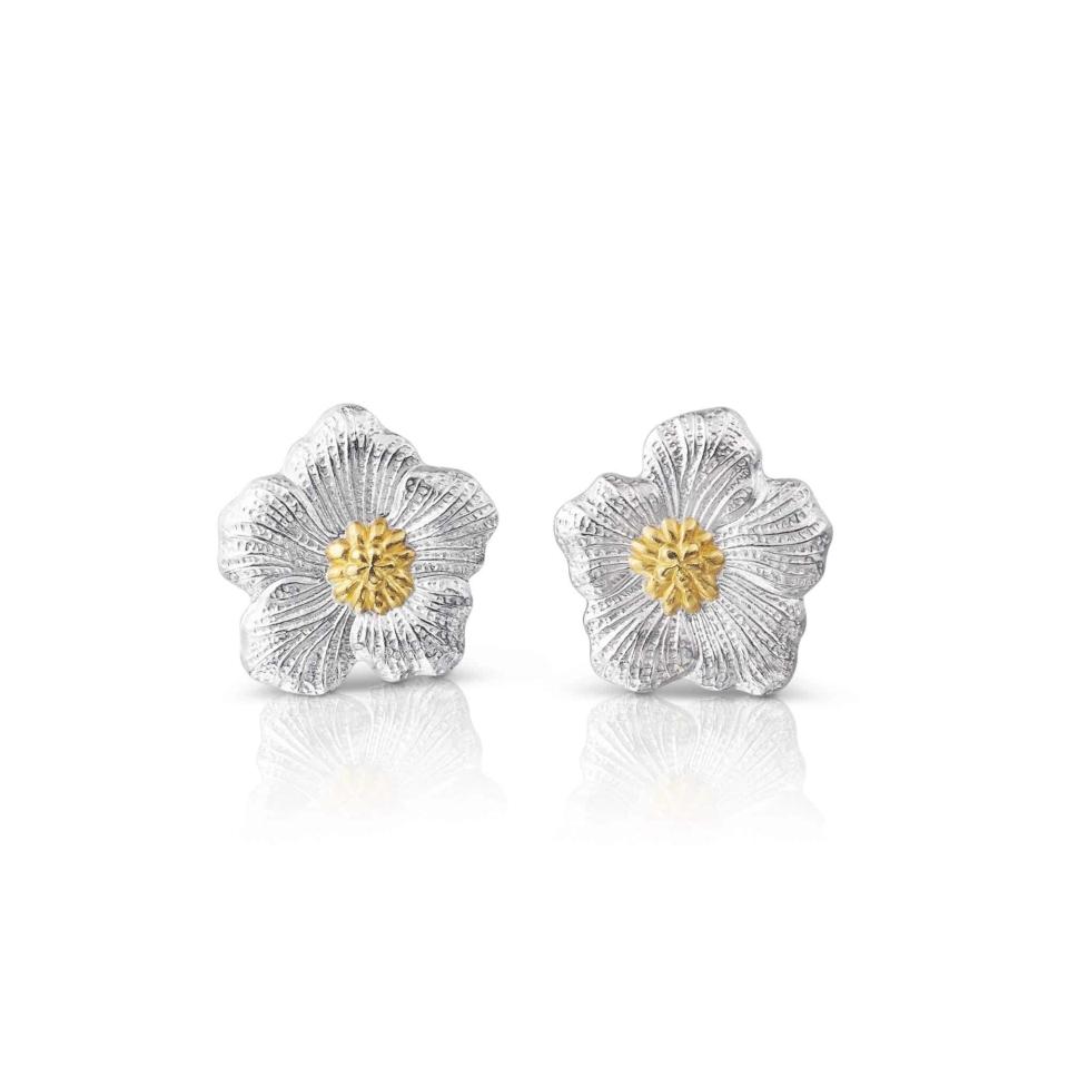 Small Gardenia BUCCELLATI Earrings