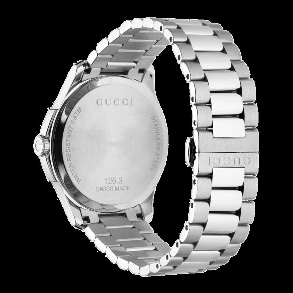 OROLOGIO GUCCI G TIMELESS slim BLU diamantato