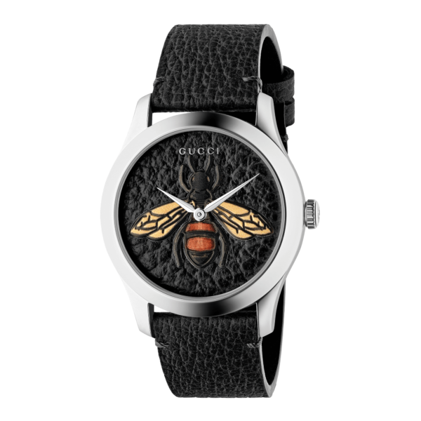 OROLOGIO GUCCI G-TIMELESS GARDEN BLACK