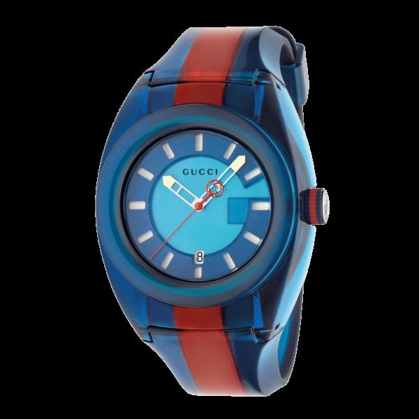 Orologio Gucci Sync XL Web Blu/Rosso