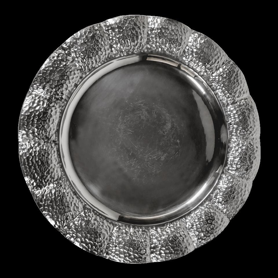 Big Silver Soup Bowl about 1970