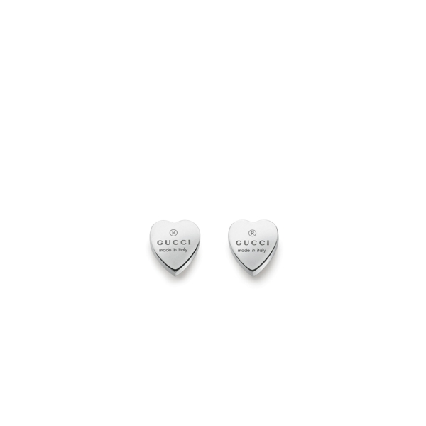 Gucci TM TRADEMARK Heart Earrings