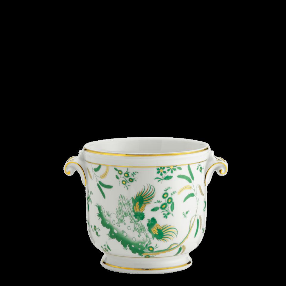 Oro Di Doccia Jade Vase