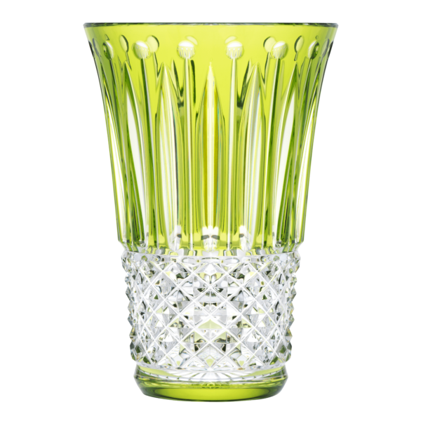 St. Louis Tommyssimo chartreuse-green vase
