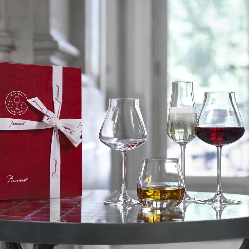 Set of 4 glasses Chateau Baccarat Degustation