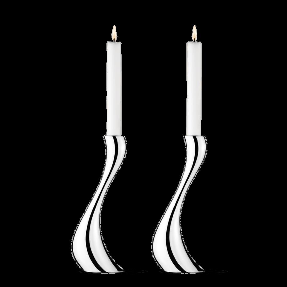 Cobra candlesticks set 2 pieces