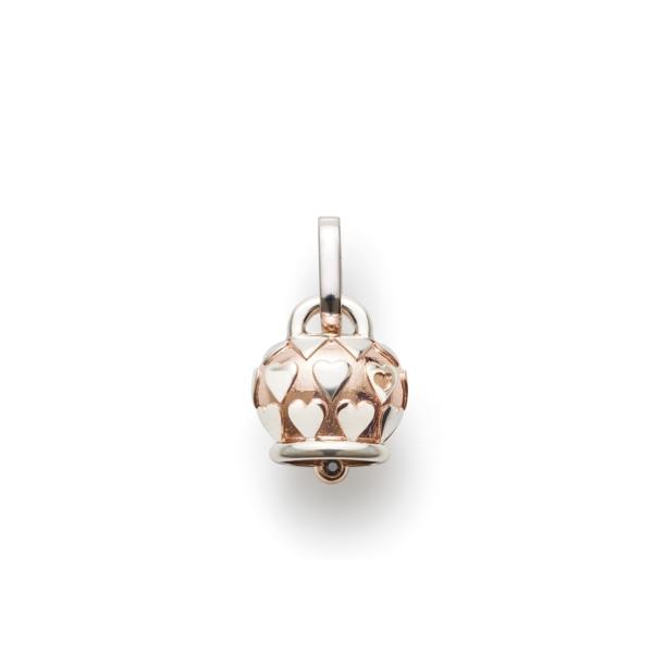 Bell pendant pink gradient