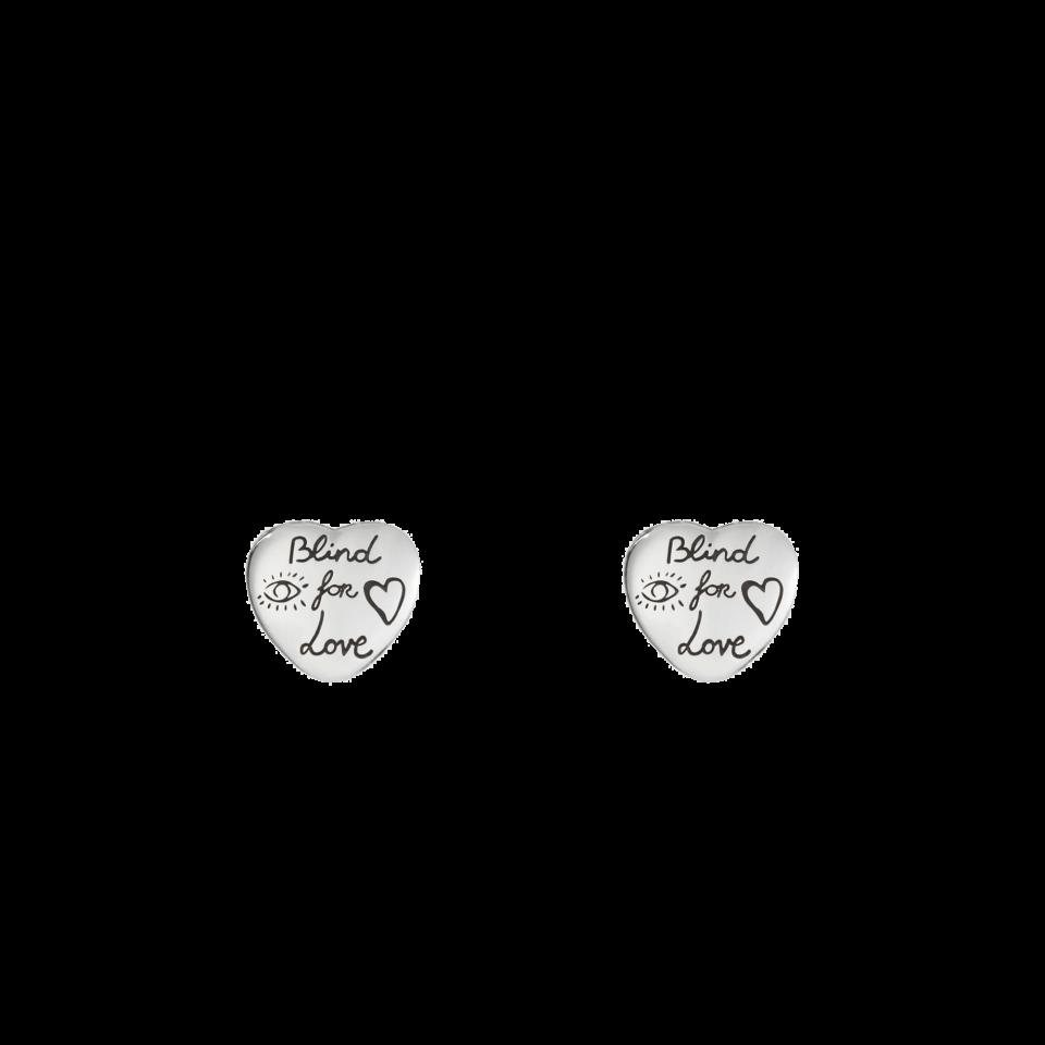 Orecchini Blind for Love argento