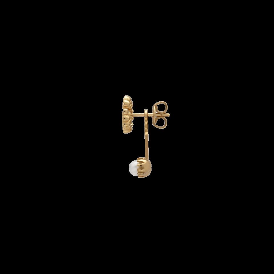 Orecchino Gucci  singolo GG Running con perle