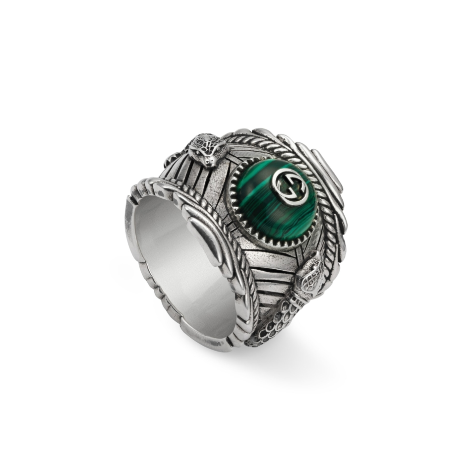 Gucci Garden ring in silver