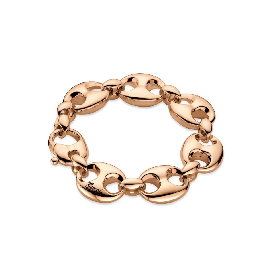 Marina Chain Bracelet in rose gold