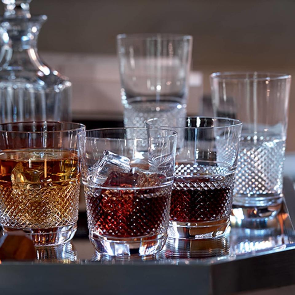 BACCARAT GLASS DIAMANT TUMBLER