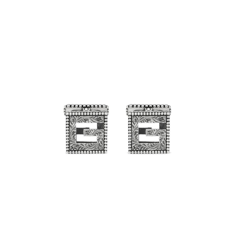 Gemelli G Quadro argento GUCCI