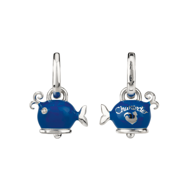 Whale earrings Chantecler