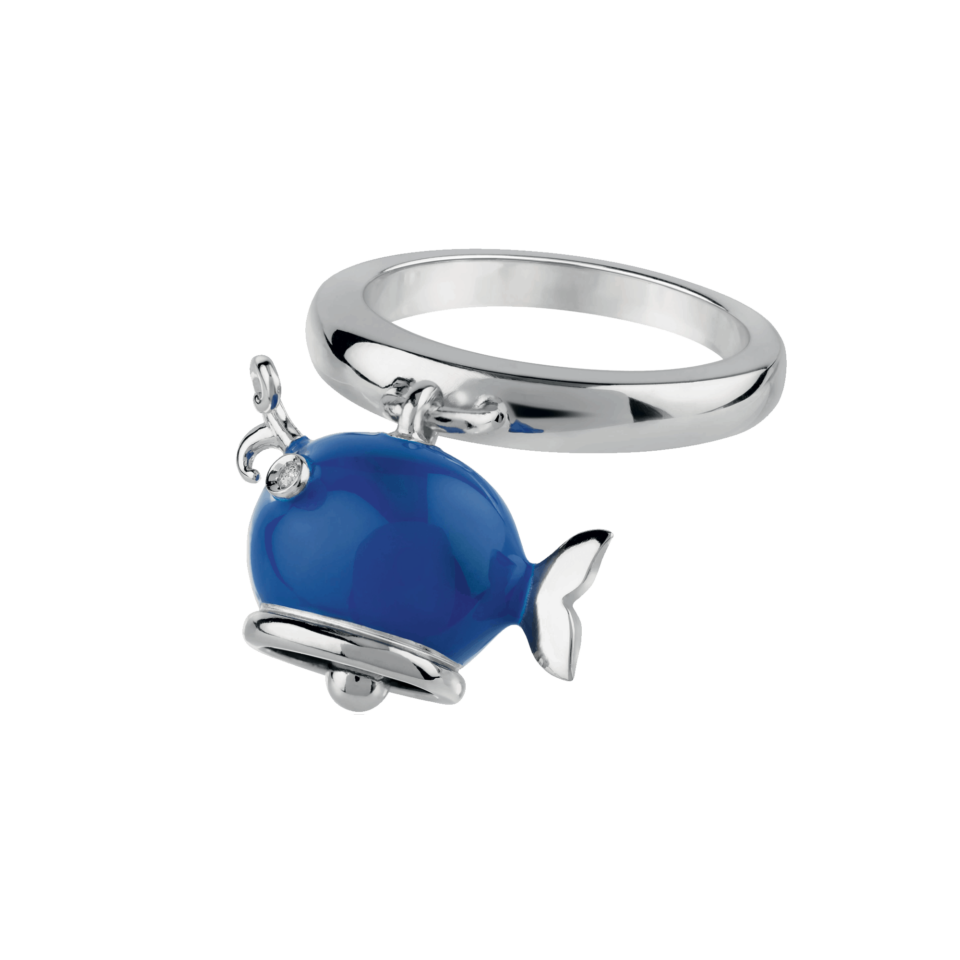 Whale ring Chantecler