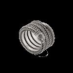 Gucci Garden silver snake wrap ring anello serpente argento discount sconto