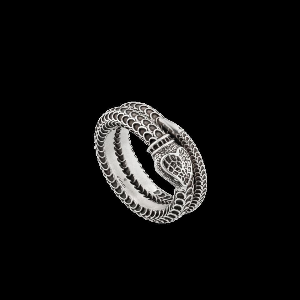Gucci Garden silver snake ring anello serpente argento