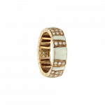 LOS ANGELES Ring ROSE GOLD AND DIAMONDS