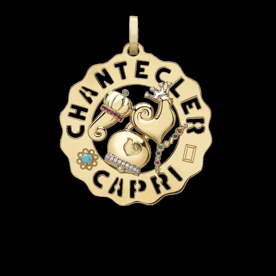 Ciondolo Chantecler Logo grande gallo