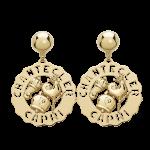 Chantecler Orecchini Logo piccoli gallo