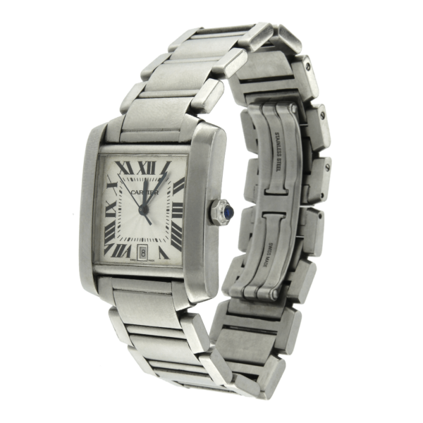 Cartier watch Tank French