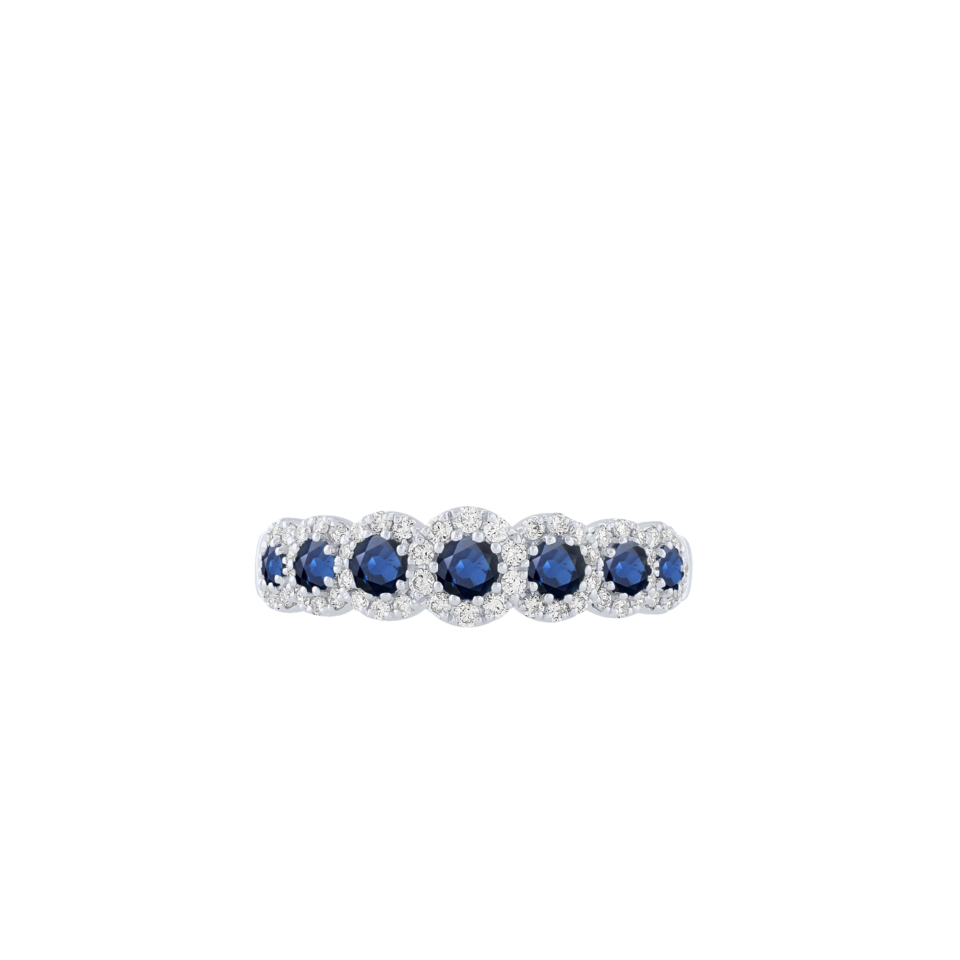 Bon Ton Brilliant Sapphires Ring