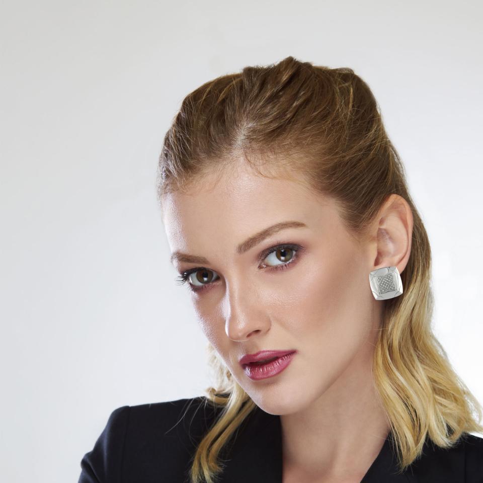 Bulgari Pyramid Earrings