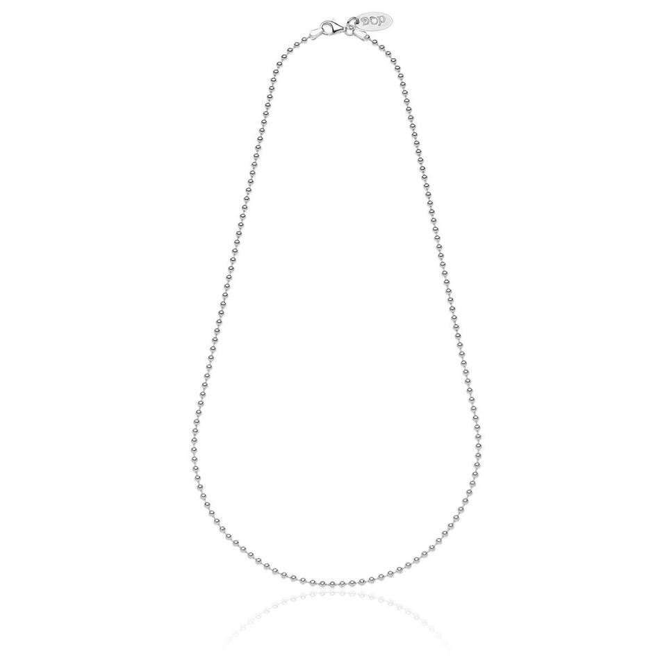 Boule Necklace Base in Silver dop jewels