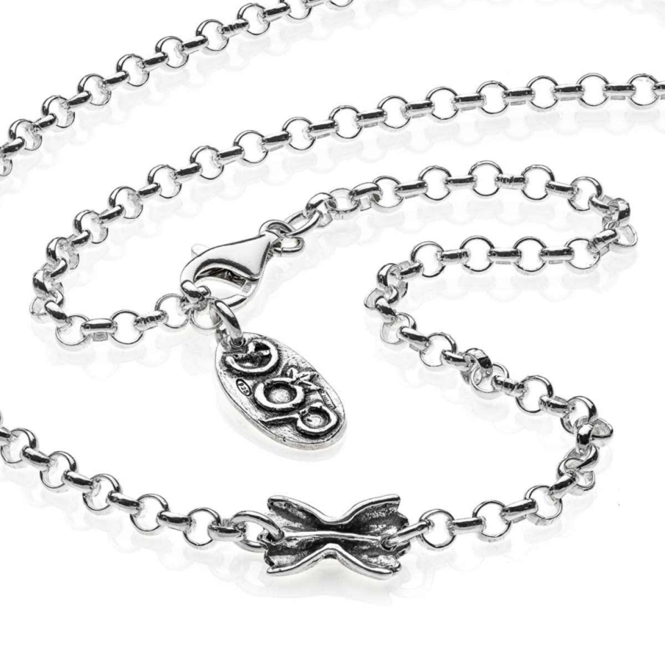 45 cm Rolò Light Necklace dop jewels