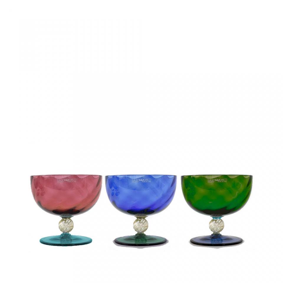 Nason Moretti Set 6 bowls Sandra