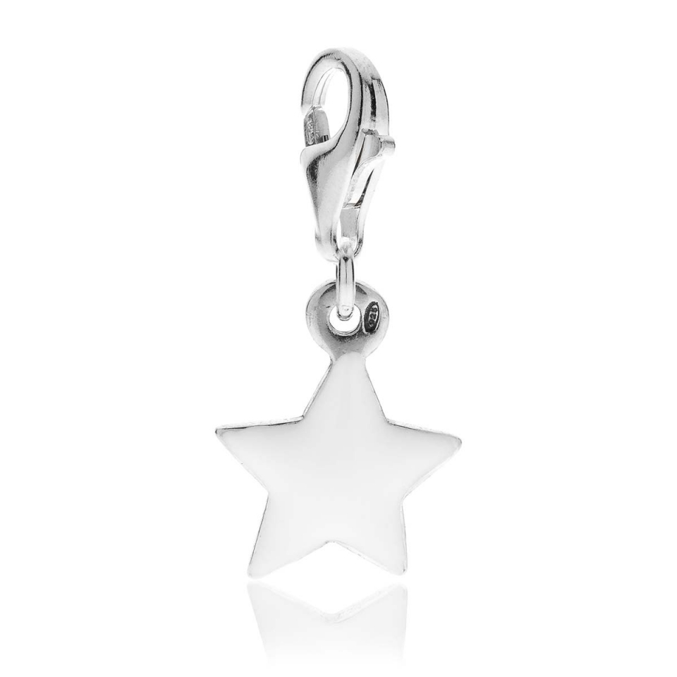 Star Charm Silver and Enamels dop jewels