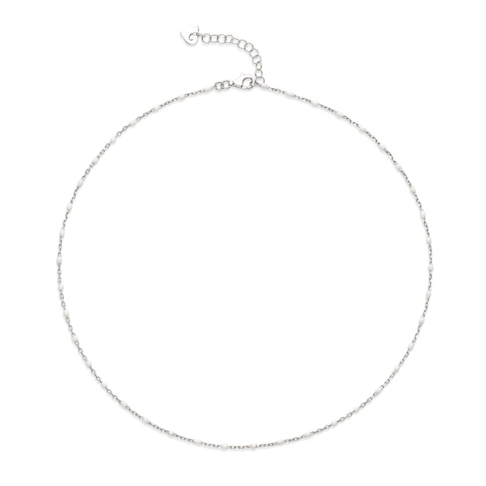 Collana Chantecler Capriness regolabile bianca 39678