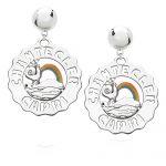 orecchini logo arcobaleno chantecler 40180
