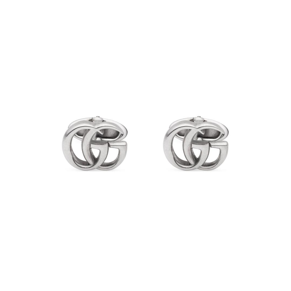 Gemelli Gucci argento cufflinks