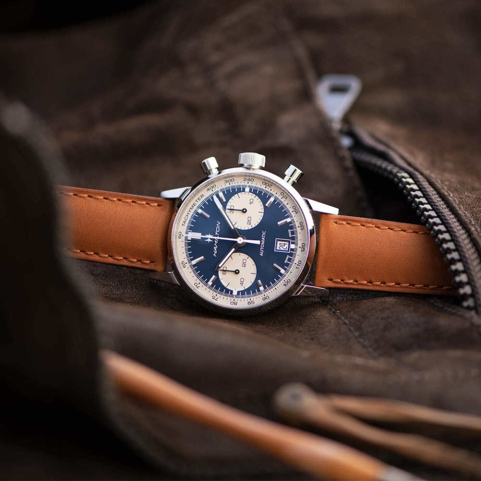 Hamilton American Classic Watch Intra-Matic Auto Chrono