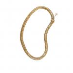 Collana girocollo Vintage scaglie serpente Snake necklace vintage