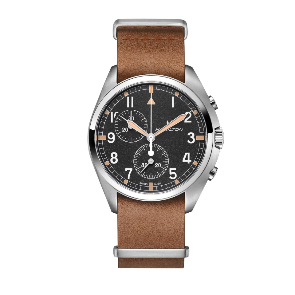 Khaki Aviation Pilot Pioneer Chrono Quartz h76522531