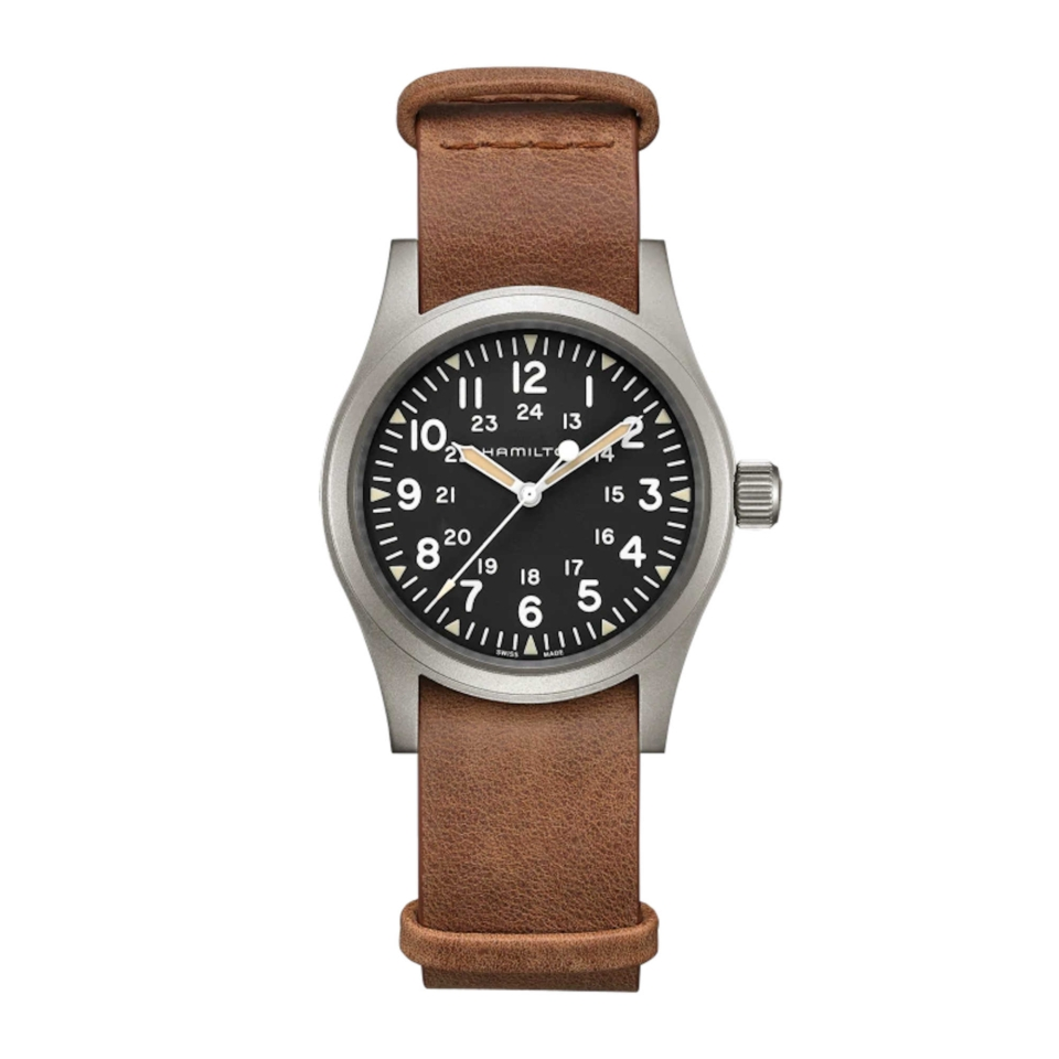 Khaki Field Mechanical Meccanico | 38mm | H69439531