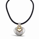Ciondolo doppio cuore bulgari double hart pendant