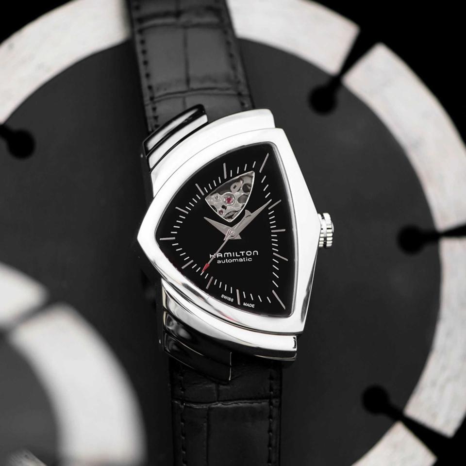 Hamilton Ventura Open Heart Auto Watch