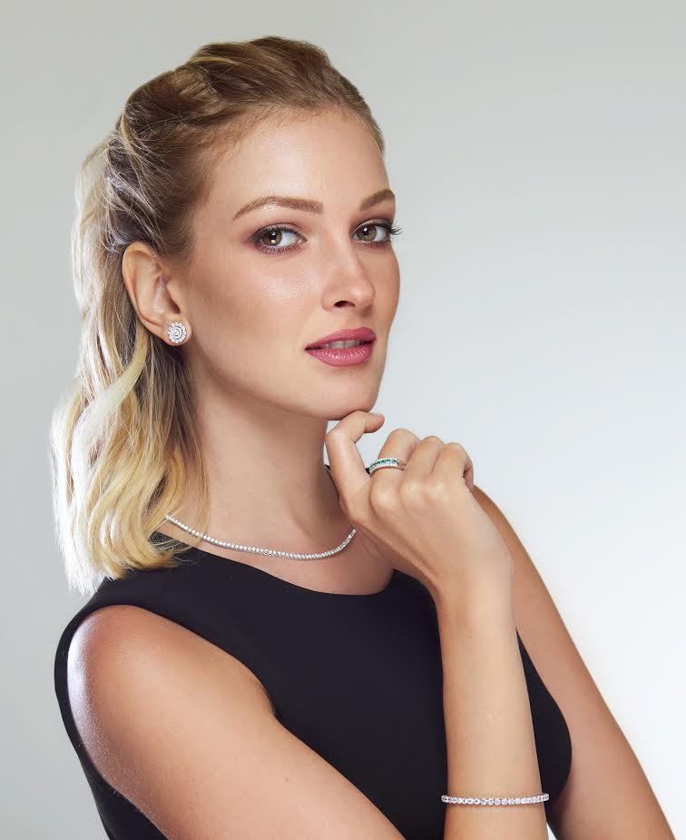 anello diamanti e smeraldi oro bianco emerald diamonds ring discount code