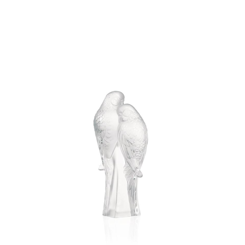 2 pappagallini lalique
