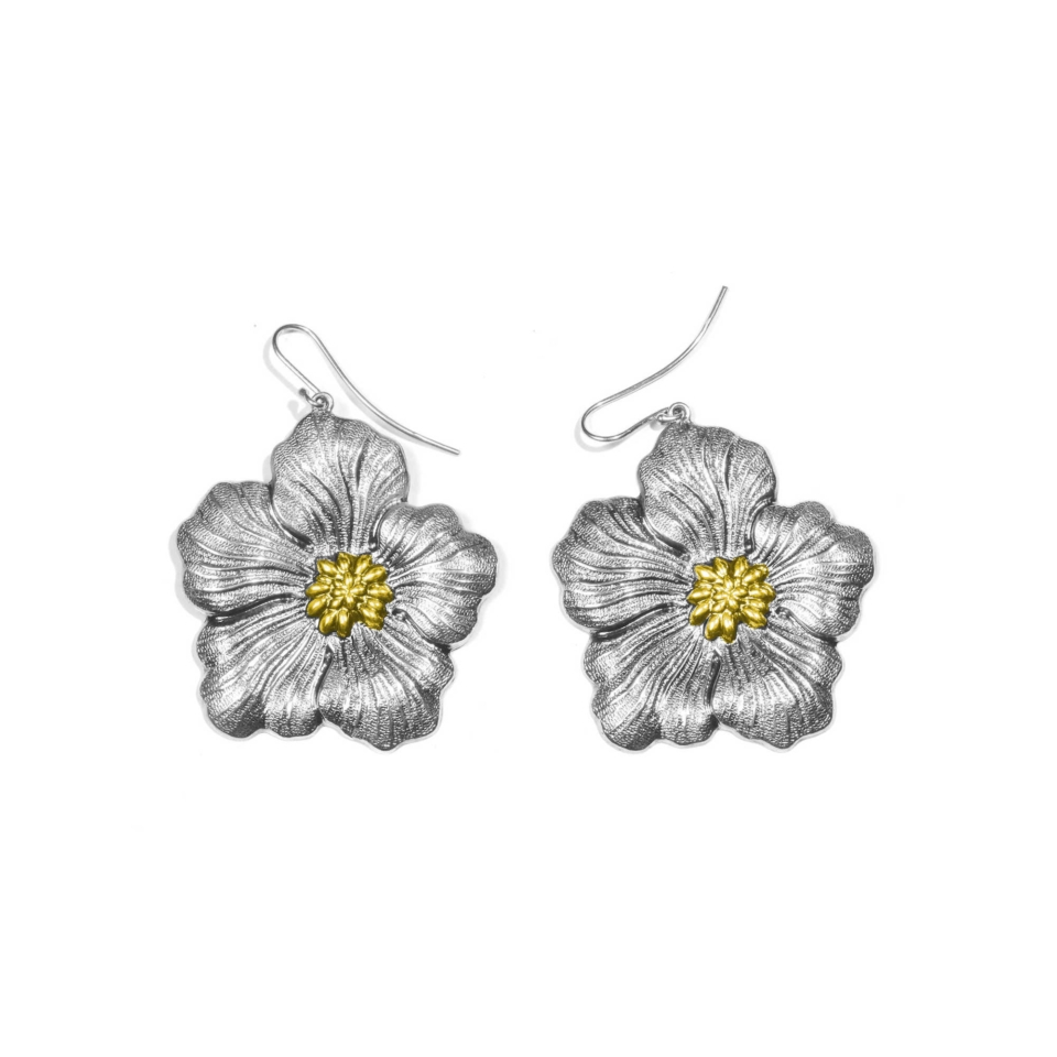 orecchini buccellati gardenia chiusura amo placcati oro MEDI