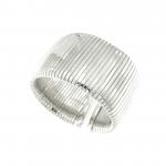 Bracciale Tubogas argento fascia grande