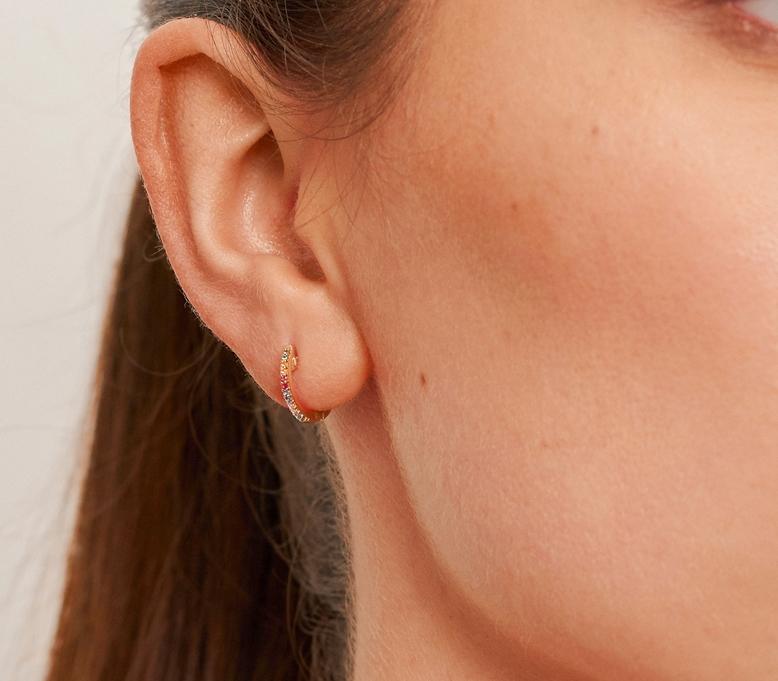 LE CARRÈ orecchini oro e topazi