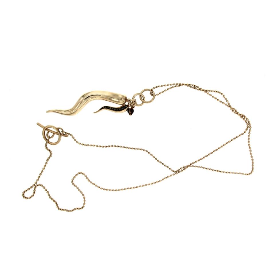 collana corno della fortuna de maria necklace lucky corn 9293